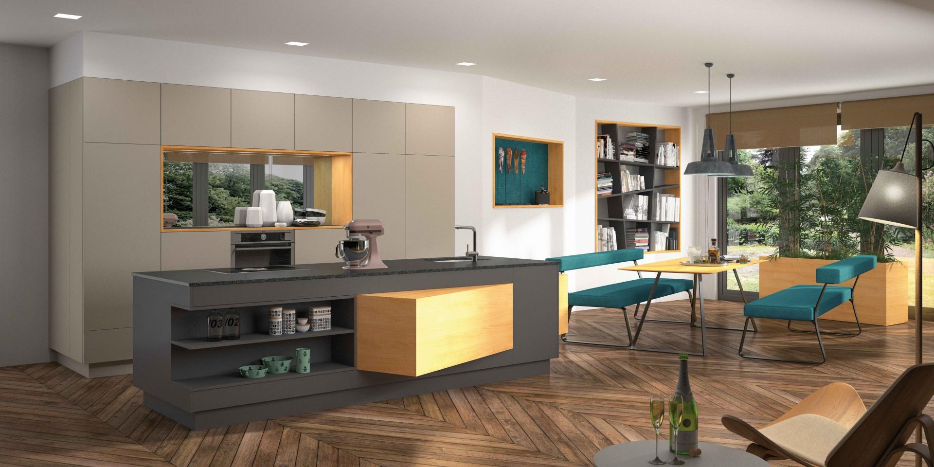 k che planen und kaufen nahe kirchdorf mit jowi m bel. Black Bedroom Furniture Sets. Home Design Ideas